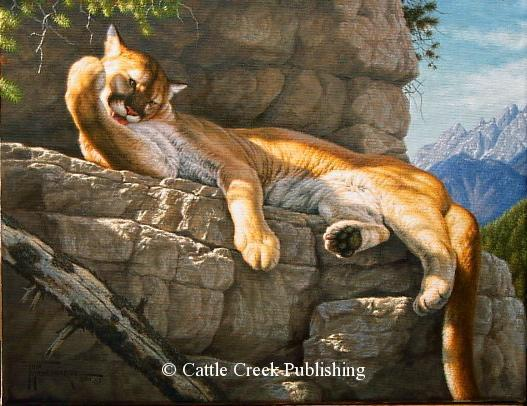"""Leisure Time"" Leisure Time mansanarez wildlife art"