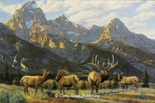 """When Shadows Call"" When Shadows Call mansanarez wildlife art"